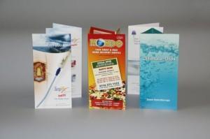 Рекламни листовки - дизайн и отпечатване