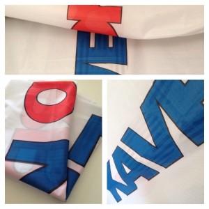 Знамена и флагове – печат на текстил