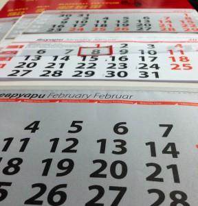 Рекламни календари – дигитален печат