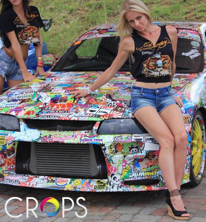Лепенки за коли за състезания www.crops.bg