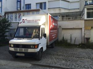 облепване на камиони