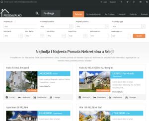 Уеб Портал за имоти