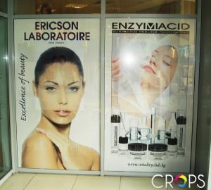 Рекламни стикери за стъкла