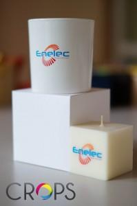 Свещи с лого