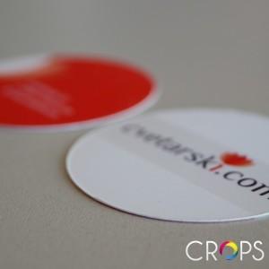 Нестандартни визитки www.crops.bg