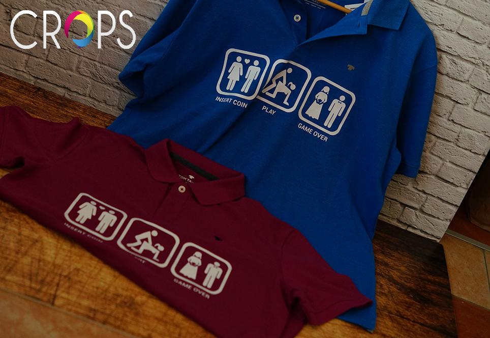 изработка на щамповани тениски