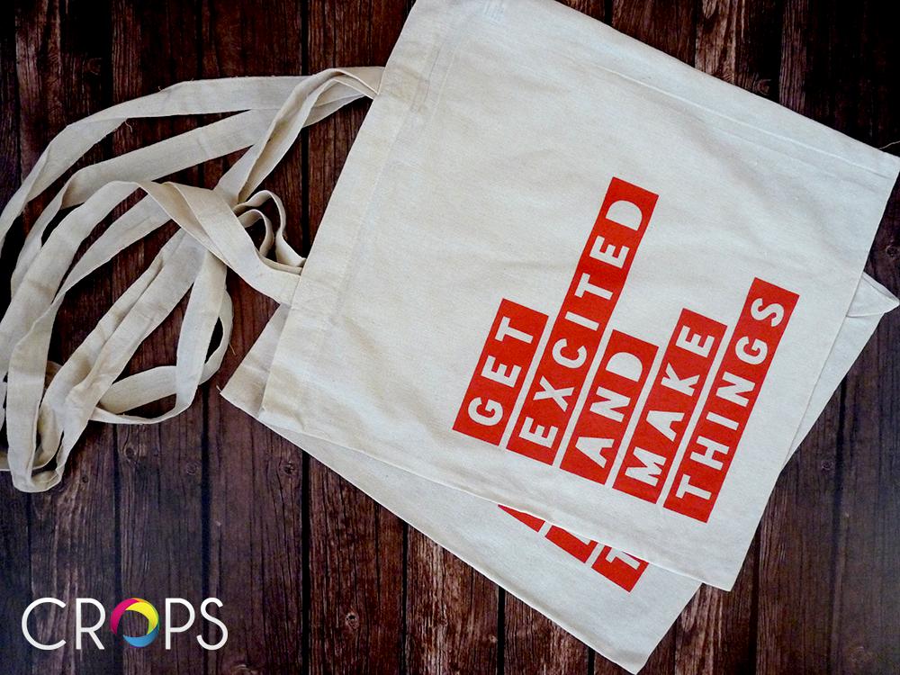 Печат върху платнени чанти